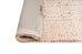 Alessandra Peach and Ivory Tribal Textured Runner Rug
