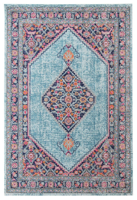 Alexandria Multi-Colour Distressed Transitional Rug
