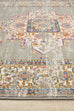 Arles Grey Traditional Medallion Rug