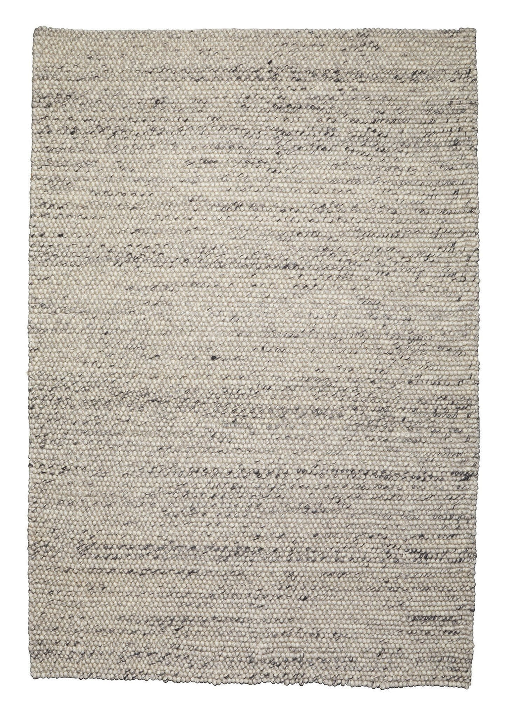Azizah Marble Grey Looped Wool Rug