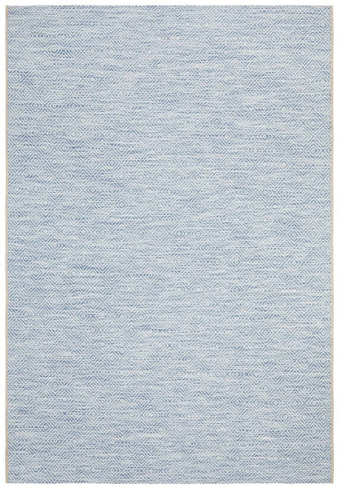 Belize Blue Diamond Rug