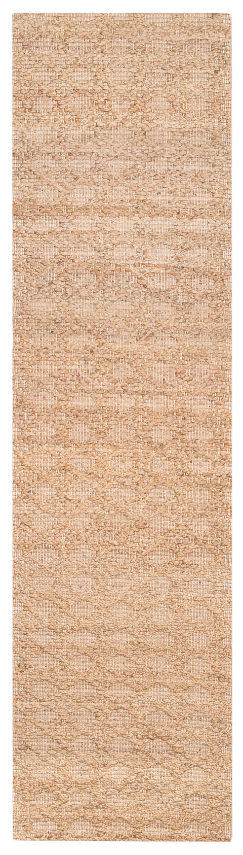 Callie Tribal Natural Diamond Jute Runner Rug