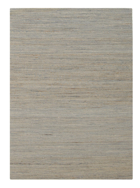 Napili Greige Striped Hemp Rug
