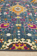 Chatres Blue Traditional Floral Rug
