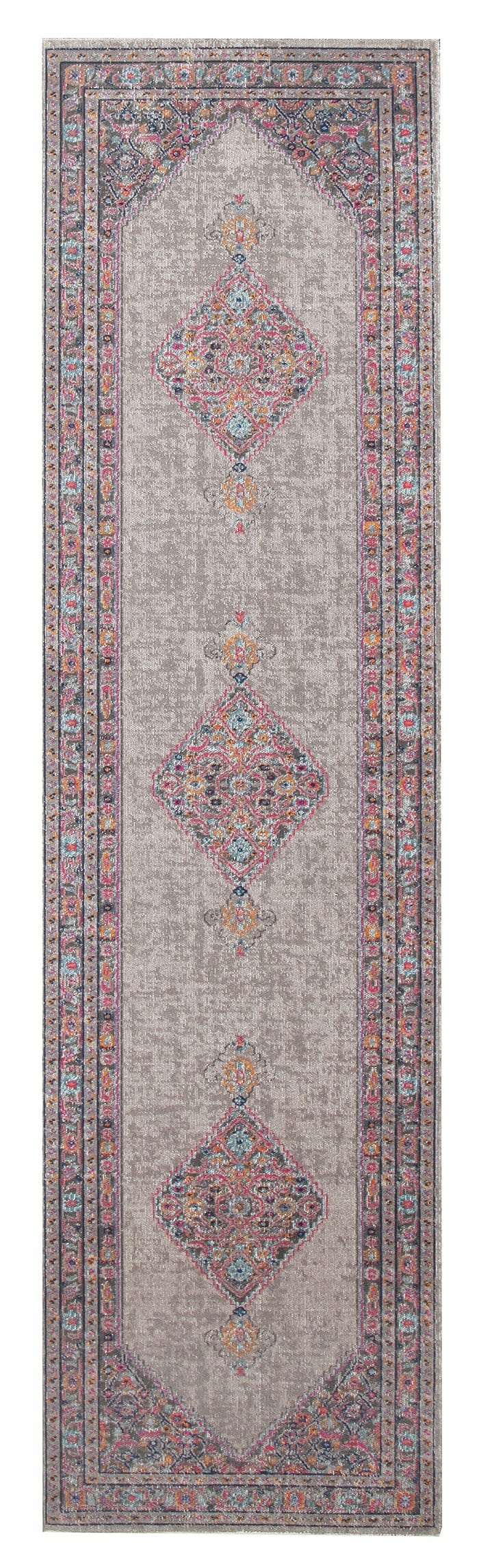 Hamam Persian Style Floral Runner Rug