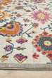 Lievin Multi Colour Traditional Floral Rug