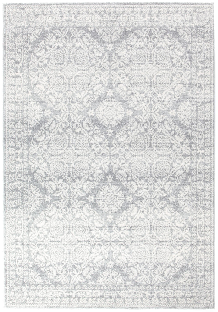 Malek Silver Grey Transitional Rug