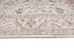 Moselle Beige and Brown Floral Distressed Rug