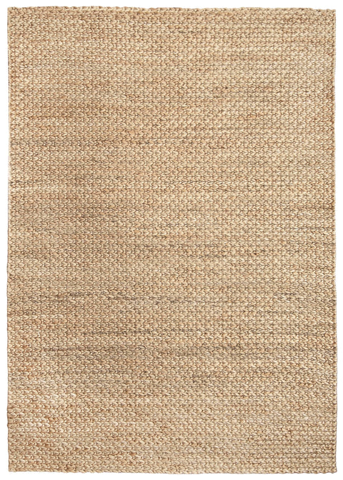 Nora Natural Tan Braided Jute Rug