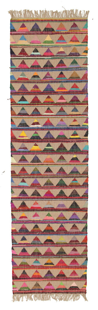 San Cristobal Jute & Cotton Bunting Runner Rug