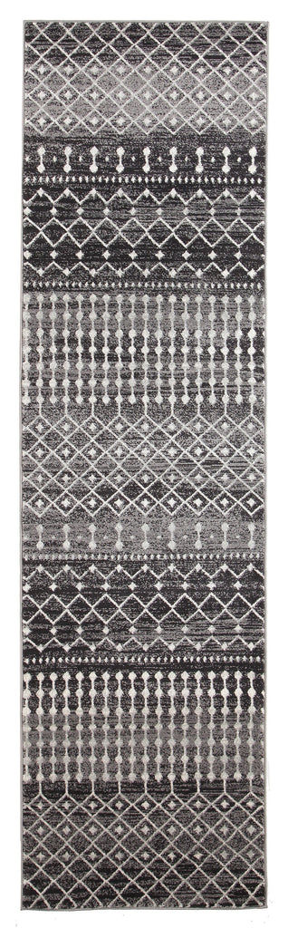 Tonder Black and White Scandinavian Pattern Runner