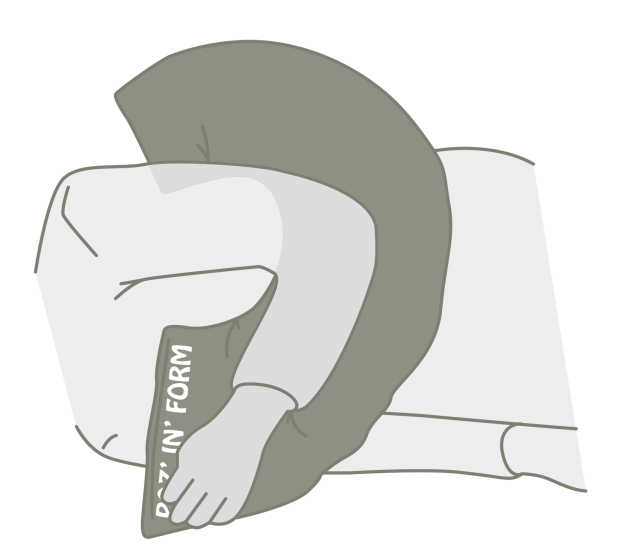 Sleep Positioning Systems - Postural Management - Cerebral Palsy - Bed Positioning - Special Needs Sleep Positioning - Mobility Aids Central Coast - Mobility Joy - Central Coast Disability Equipment - Medifab Poz In Form - Half Ring Cushion