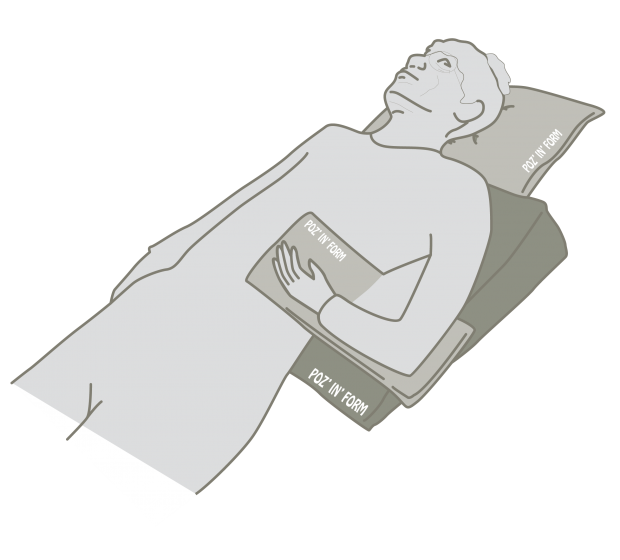 Sleep Positioning Systems - Postural Management - Cerebral Palsy - Bed Positioning - Special Needs Sleep Positioning - Mobility Aids Central Coast - Mobility Joy - Central Coast Disability Equipment - Medifab Poz In Form - Occiput Cushion
