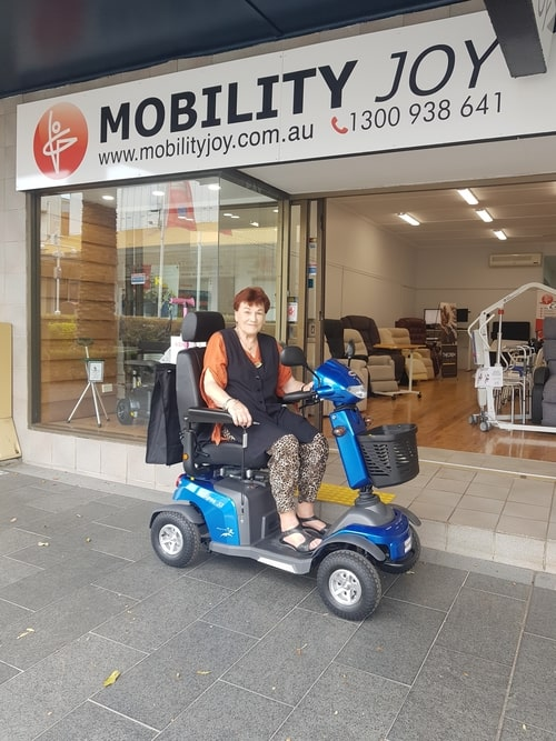 Merits Eclipse S2 4 Wheel Mobility Scooter - Central Coast - Mobility Joy