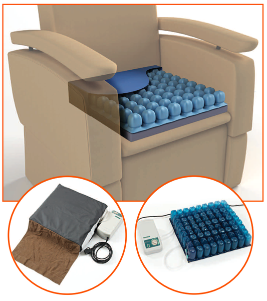 Configura Pressure Cushions - Available for trial at Mobility Joy - Central Coast