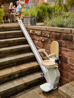 The Acorn 130 Outdoor Stairlift - Mobility Joy Central Coast