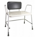 Buy Portland Bariatric Shower Stool with Padded Back Online | Adjustable Shower Stool | Aidapt Portland Bariatric | Adjustable Mobility Shower Stools | Shower Seats & Chairs