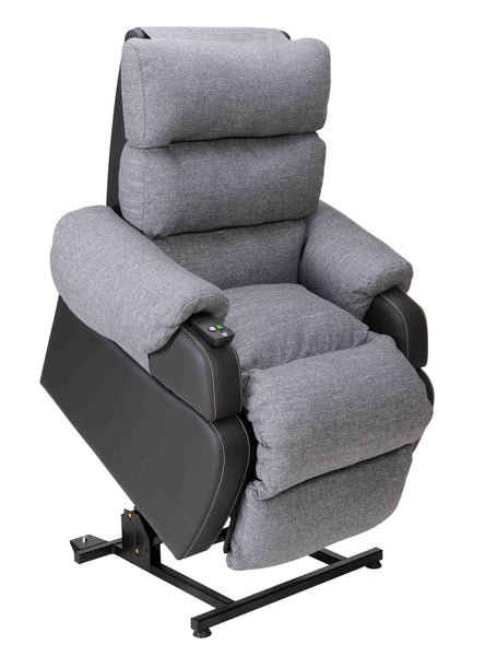 Celeste Mottle Grey Single Motor - Liftchair - Mobility Joy - Cetral Coast