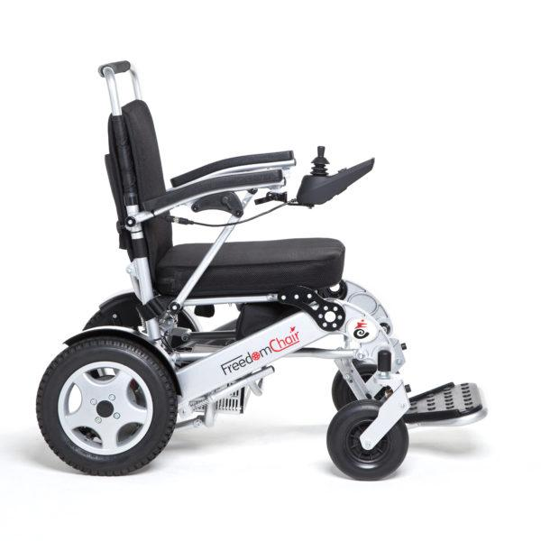 Folding Power Chair Freedom DE08L Premium Lite Sport Central Coast - Mobility Joy