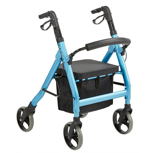 Genesis Heavy Duty 4 wheel Rollator Central Coast - Mobility Joy