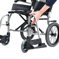 Karma Ergo Lite Deluxe Transit Wheelchair Central Coast - Mobility Joy - DVA Approved