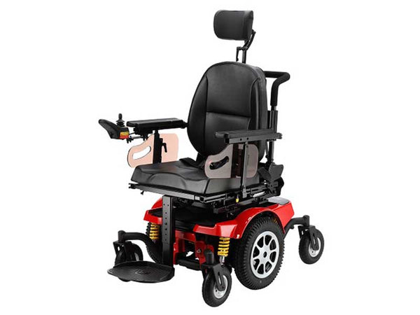 Merits Vector 2 Pole P323 Power Tilt Power Chair Central Coast - Mobility Joy