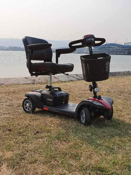 Second Hand Drive Medical Scout Sport Quattro Mobility Scooter - Central Coast - Mobility Joy