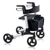 Buy TravelPro Walker Double-Fold-up Online | Folding Walker | Foldable Walker Latest Price | Electric Mobility Scooters | Adjustable walker Price | Height-Adjustable walker