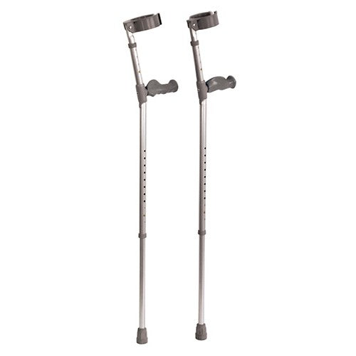 Ergonomic Handle Elbow Crutches
