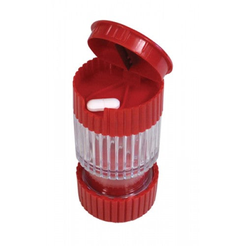 3 in1 Pill Crusher, Cutter, Storage