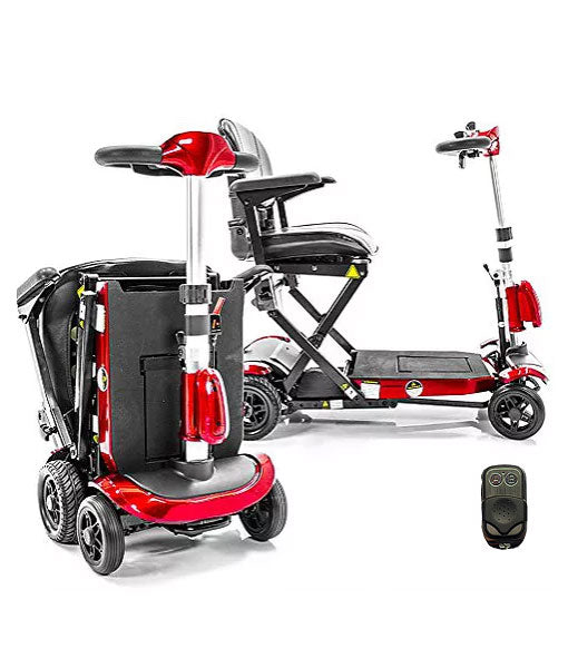 Genie + Remote Control Folding Portable Mobility Scooter - Central Coast - Mobility Joy