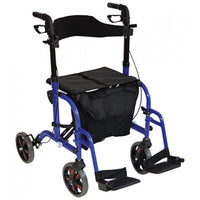 Deluxe Duo Rollator / Transit Chair