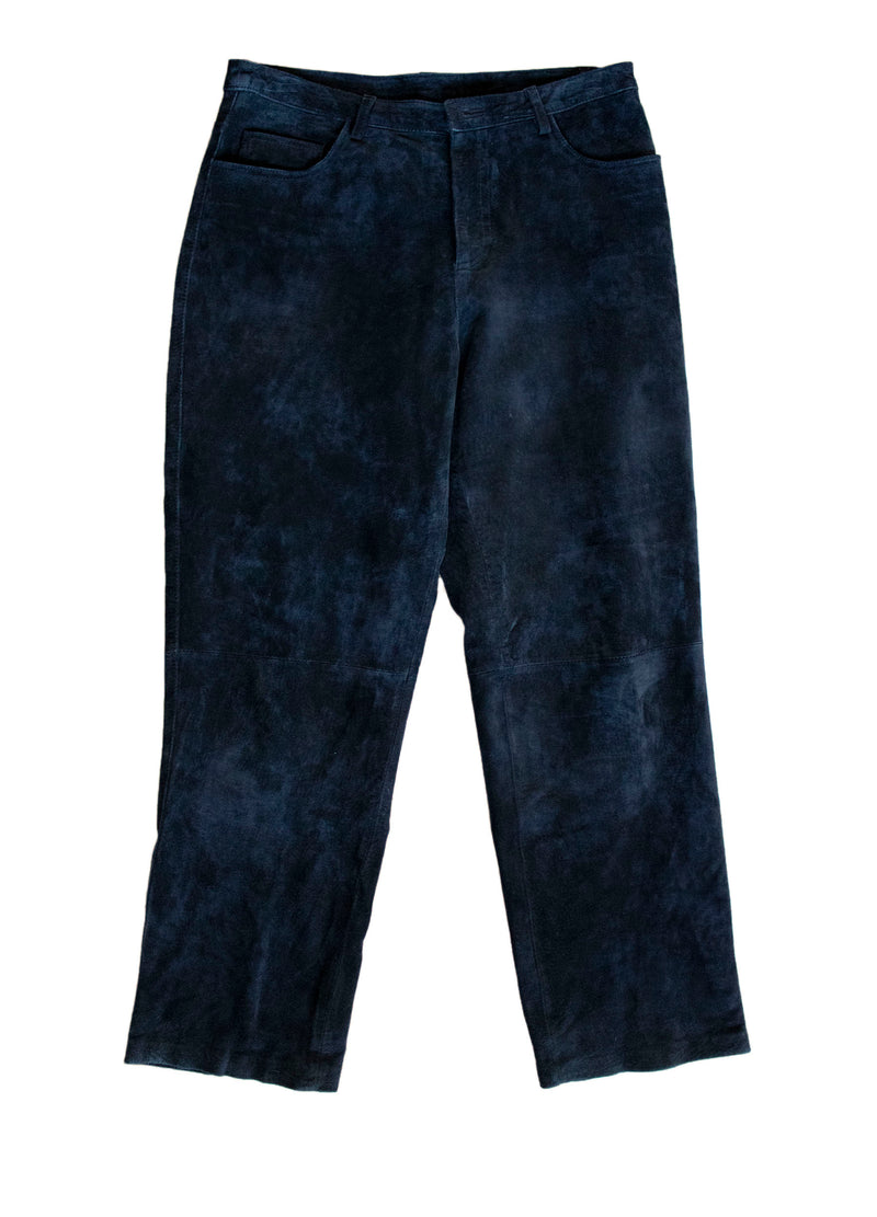 "Brandon Thomas ""Jet"" Suede Pants - Rizzo's"