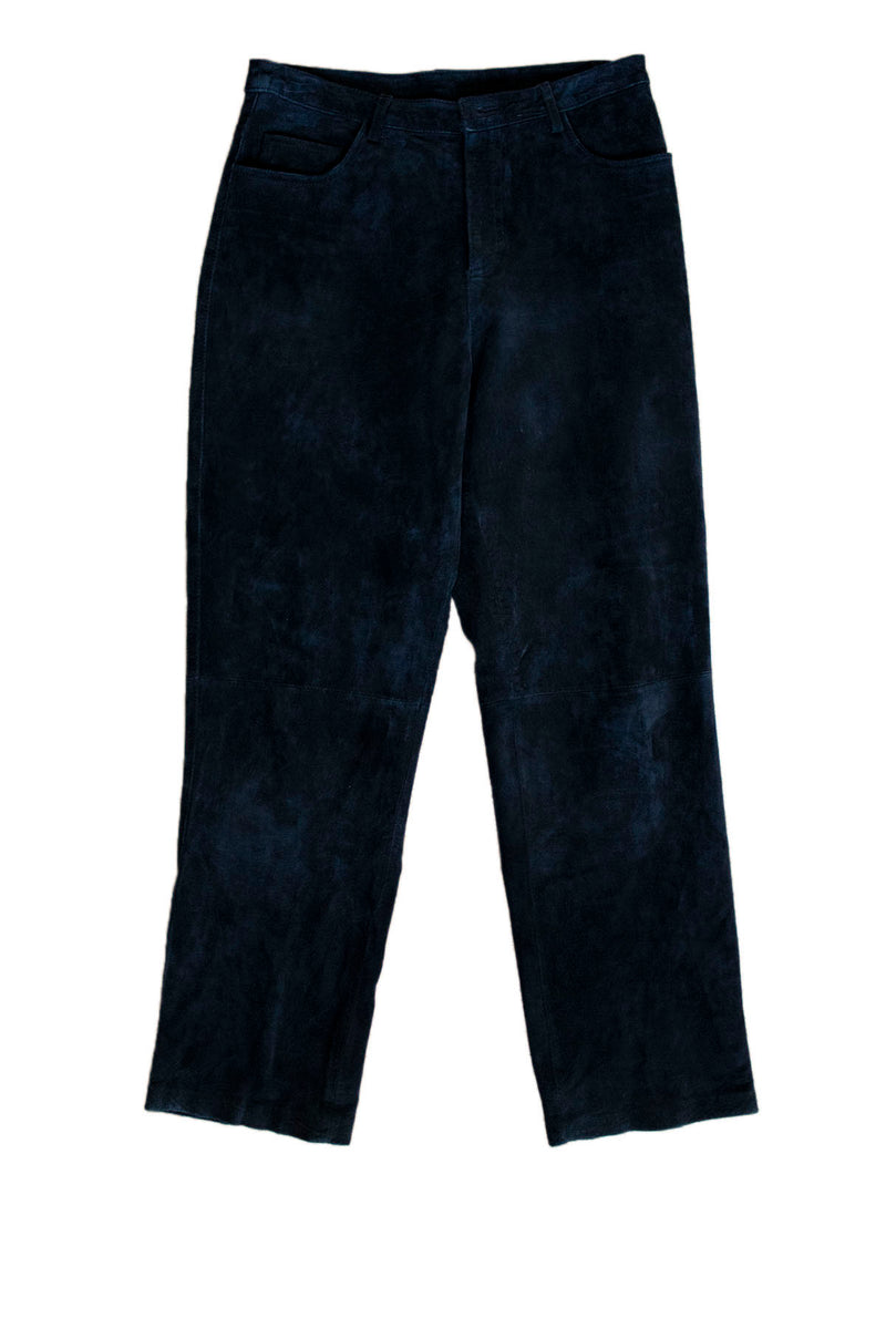 "Brandon Thomas ""Jet"" Suede Pants Back - Rizzo's"