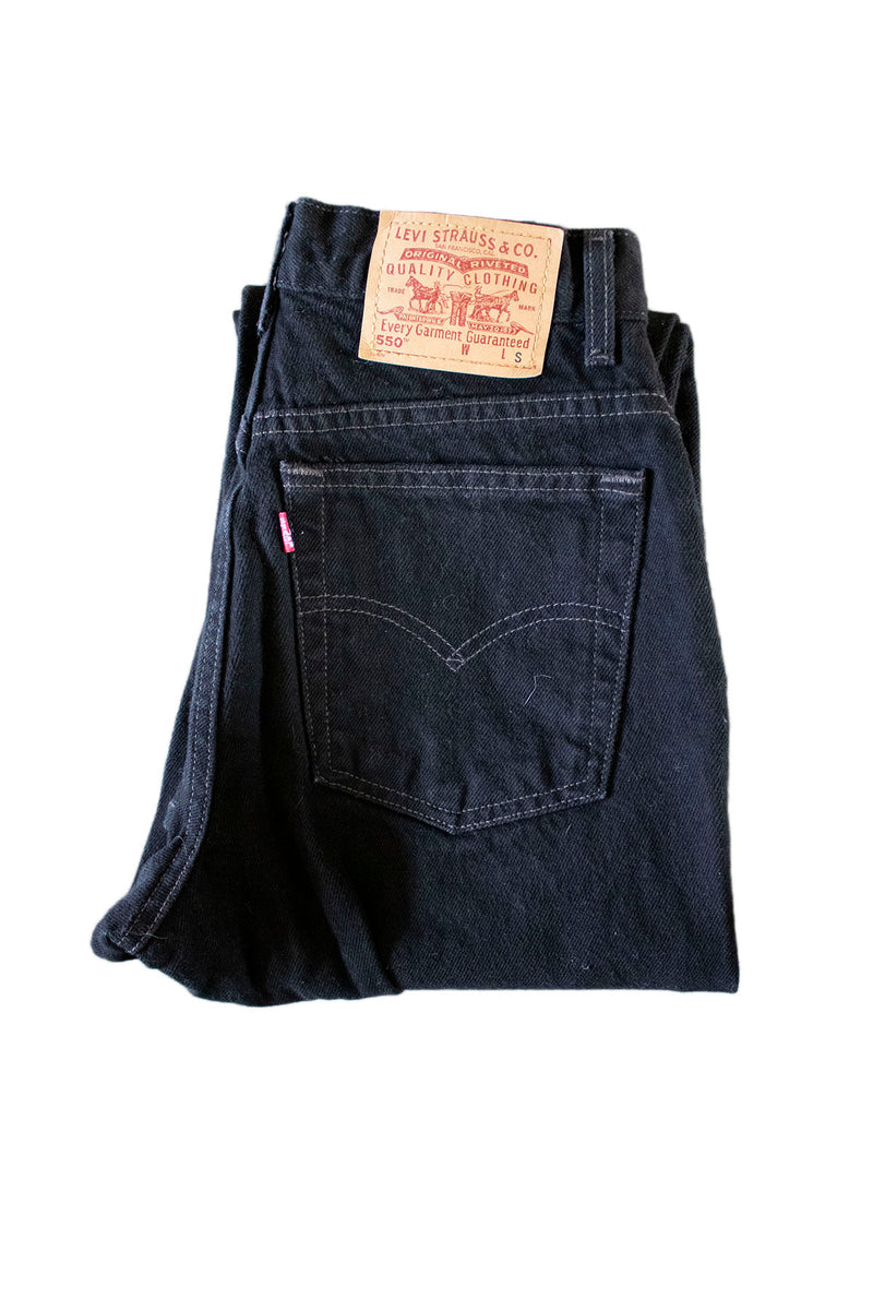 "Levi Strauss ""Leon"" Black Jeans Tag - Rizzo's"