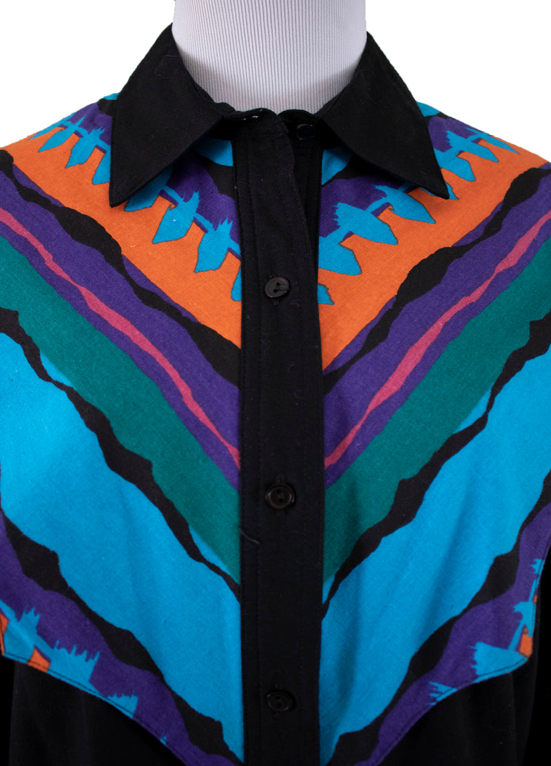 "Thomas Louis Habeeb South Cross ""Lot Lizard"" Long Sleeve Button-Up Shirt Front image- Rizzo's"