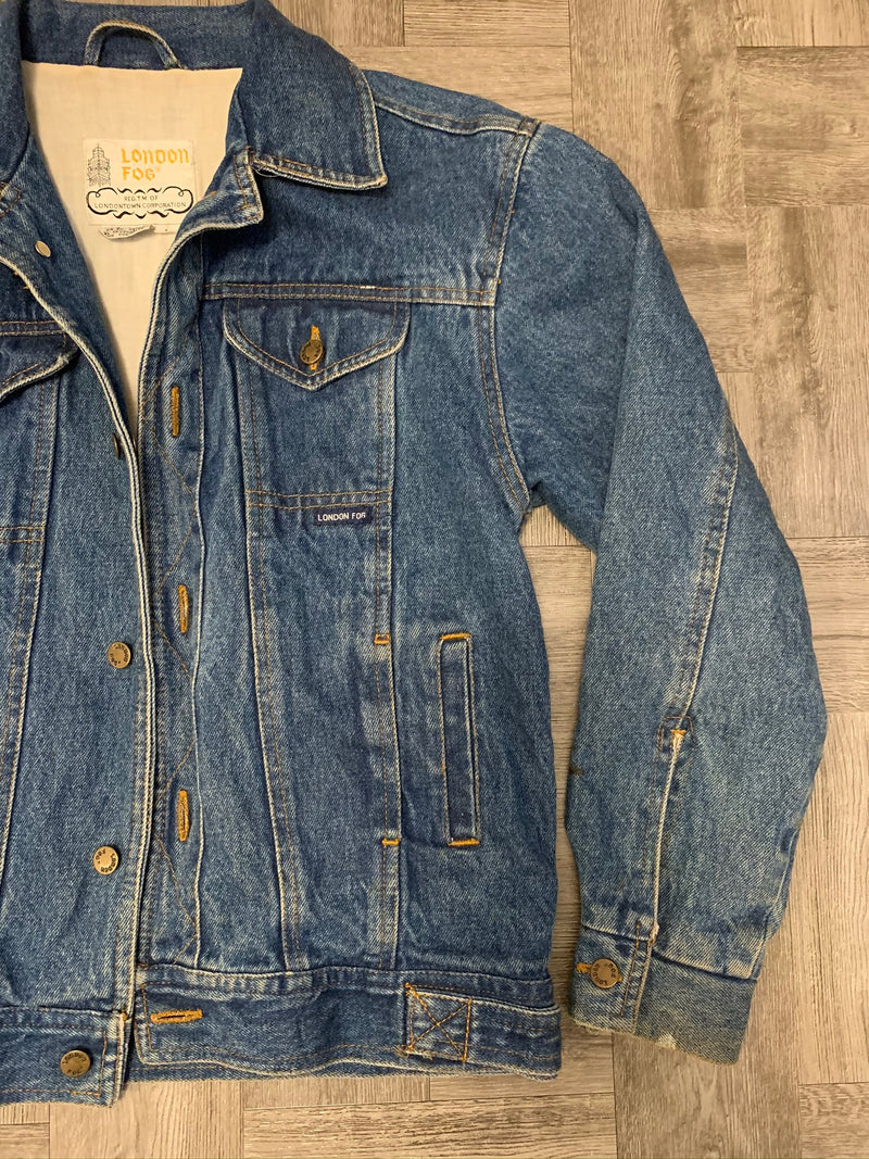 London Fog Denim Jacket