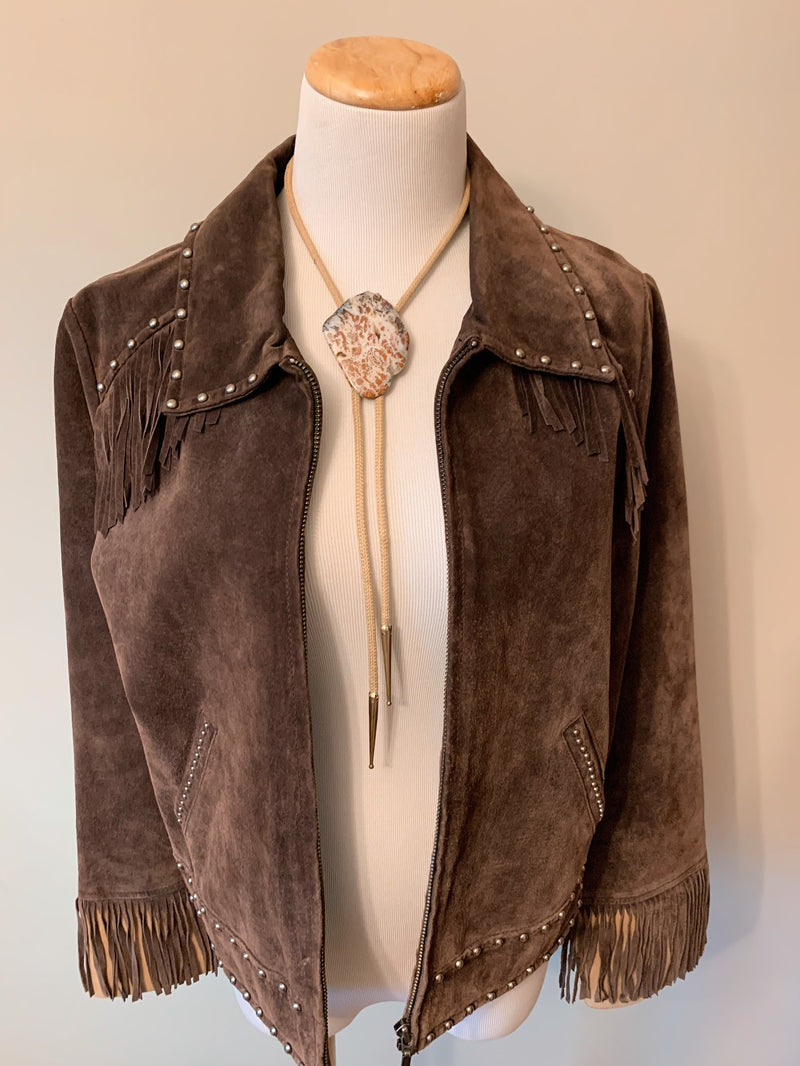 Texas Heart Leather Jacket