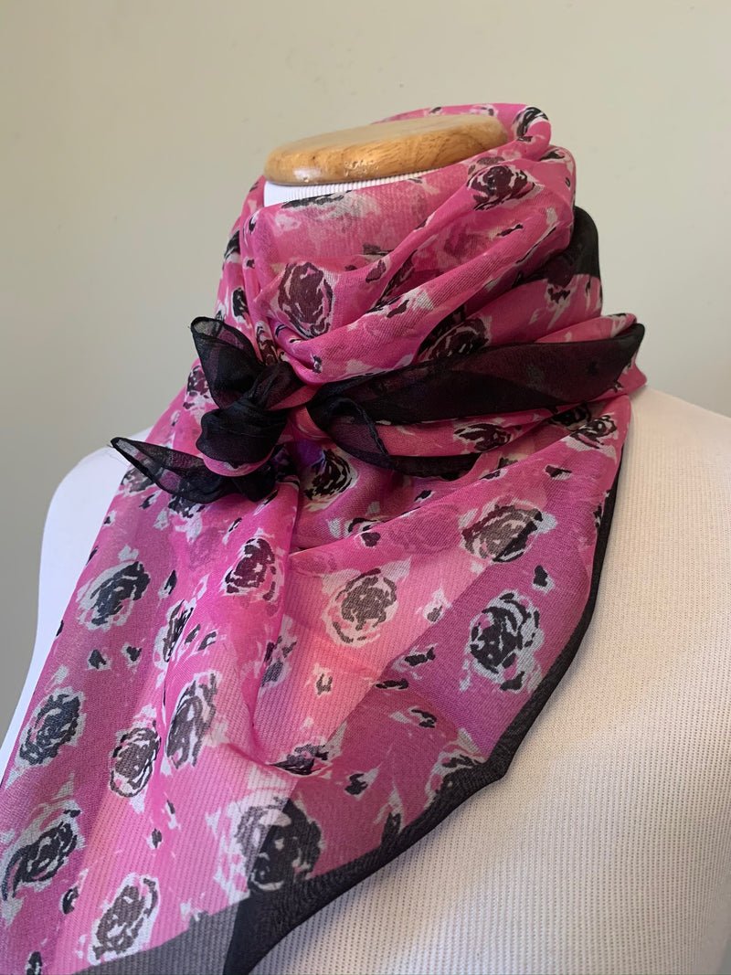 Pretty In Pink Scarf