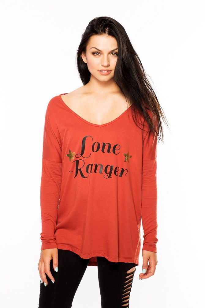 Lone Ranger V-Neck Sweater