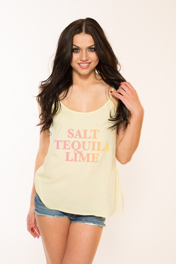 Salt, Tequila, Lime Cami