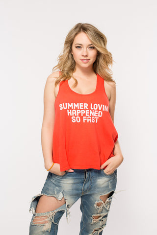 'Summer Lovin' New Racerback