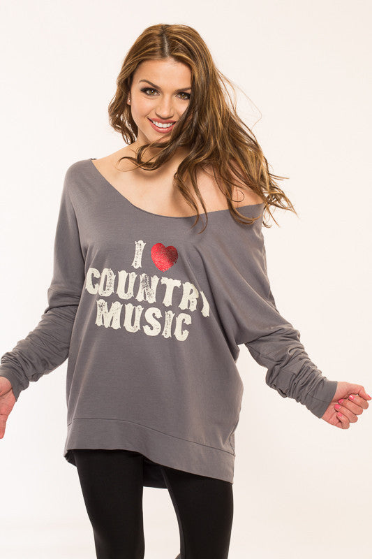 I Love Country Sweater