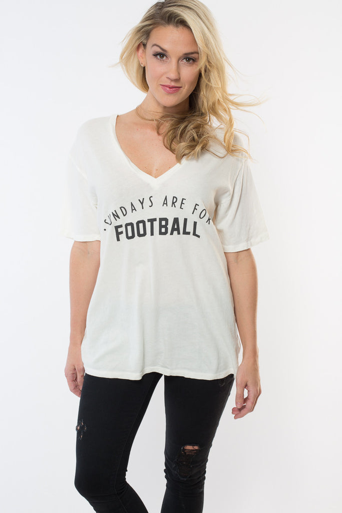 'Football Sunday's' V-neck