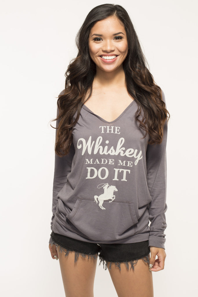 Whiskey Fitted Hoodie