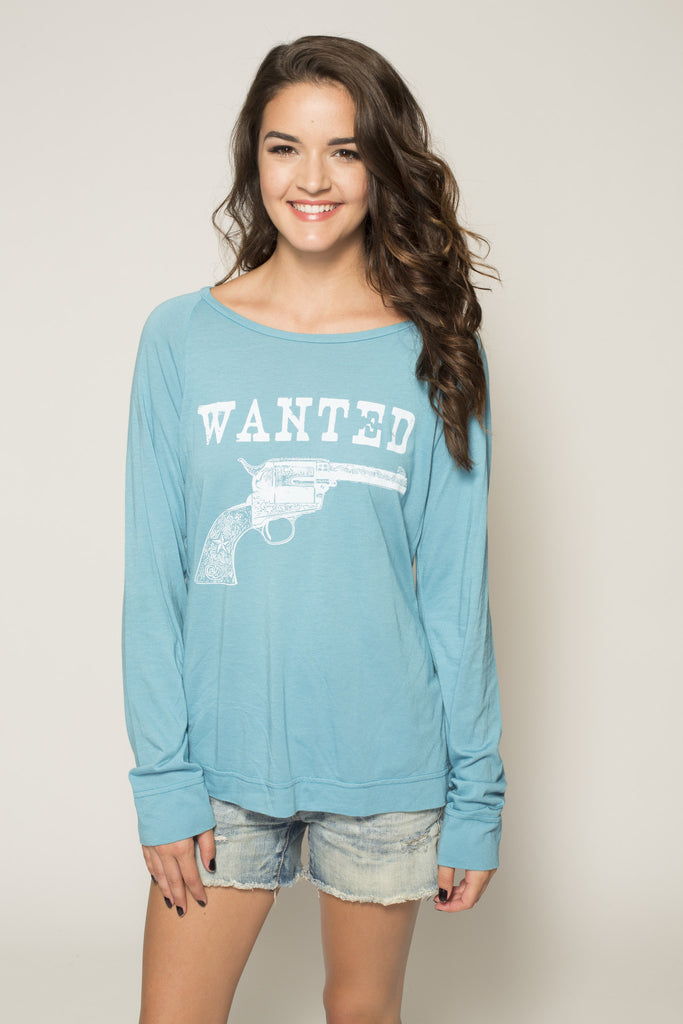 Wanted Long Sleeve Tee