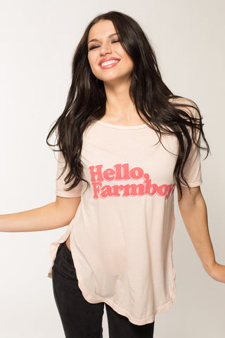 Hello Farmboy Tunic