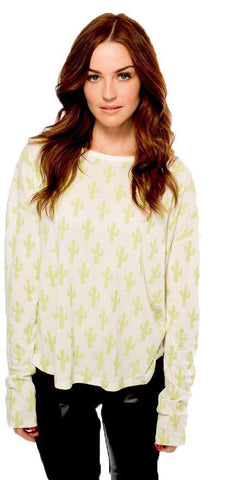 Mini Cactus Long Sleeve