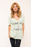 Come & Take It V-neck