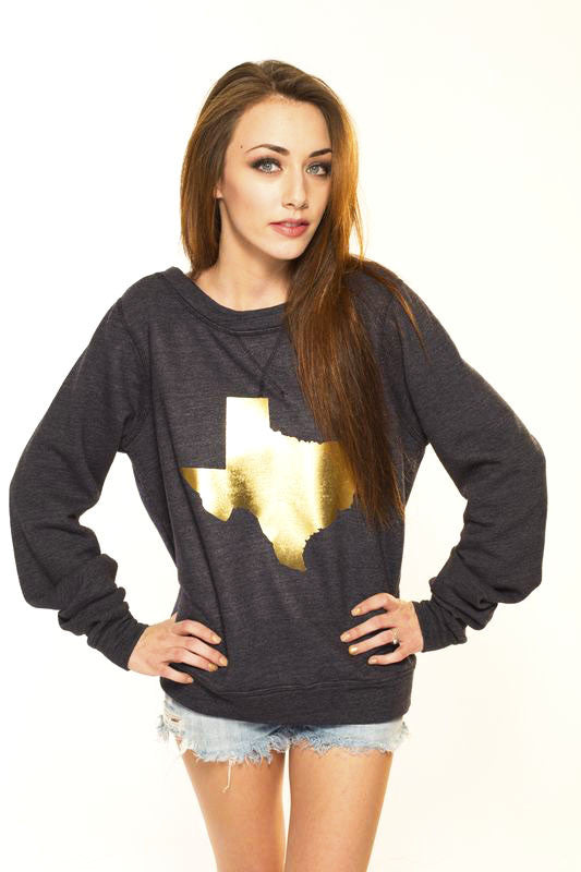 Limited Edition Gold Texas Sweater